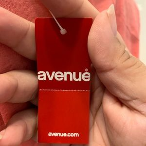 Avenue Tops - NWT Avenue Coral Floral Cut Out Tank Top 18 20